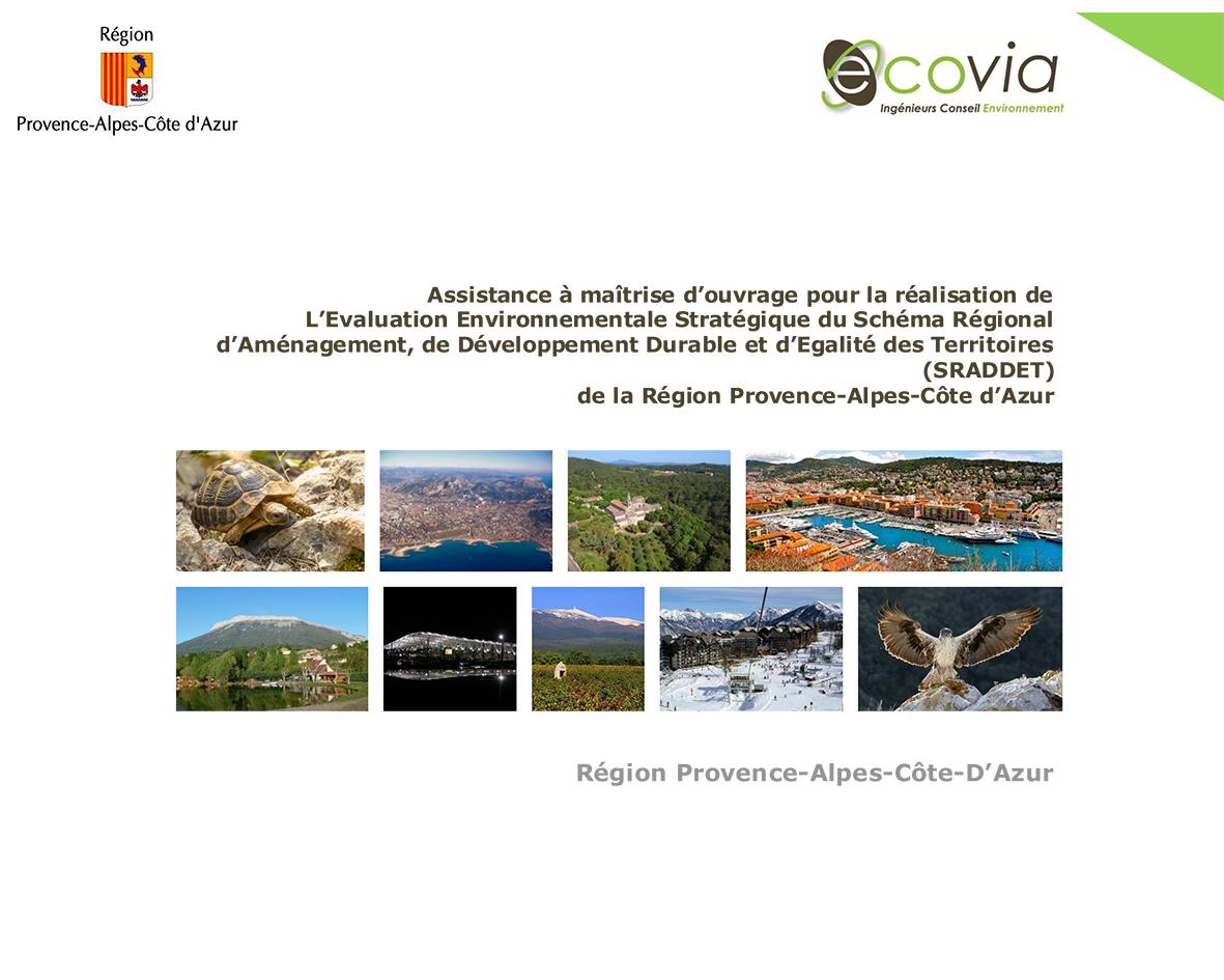 Evaluation environnementale SRADETT PACA