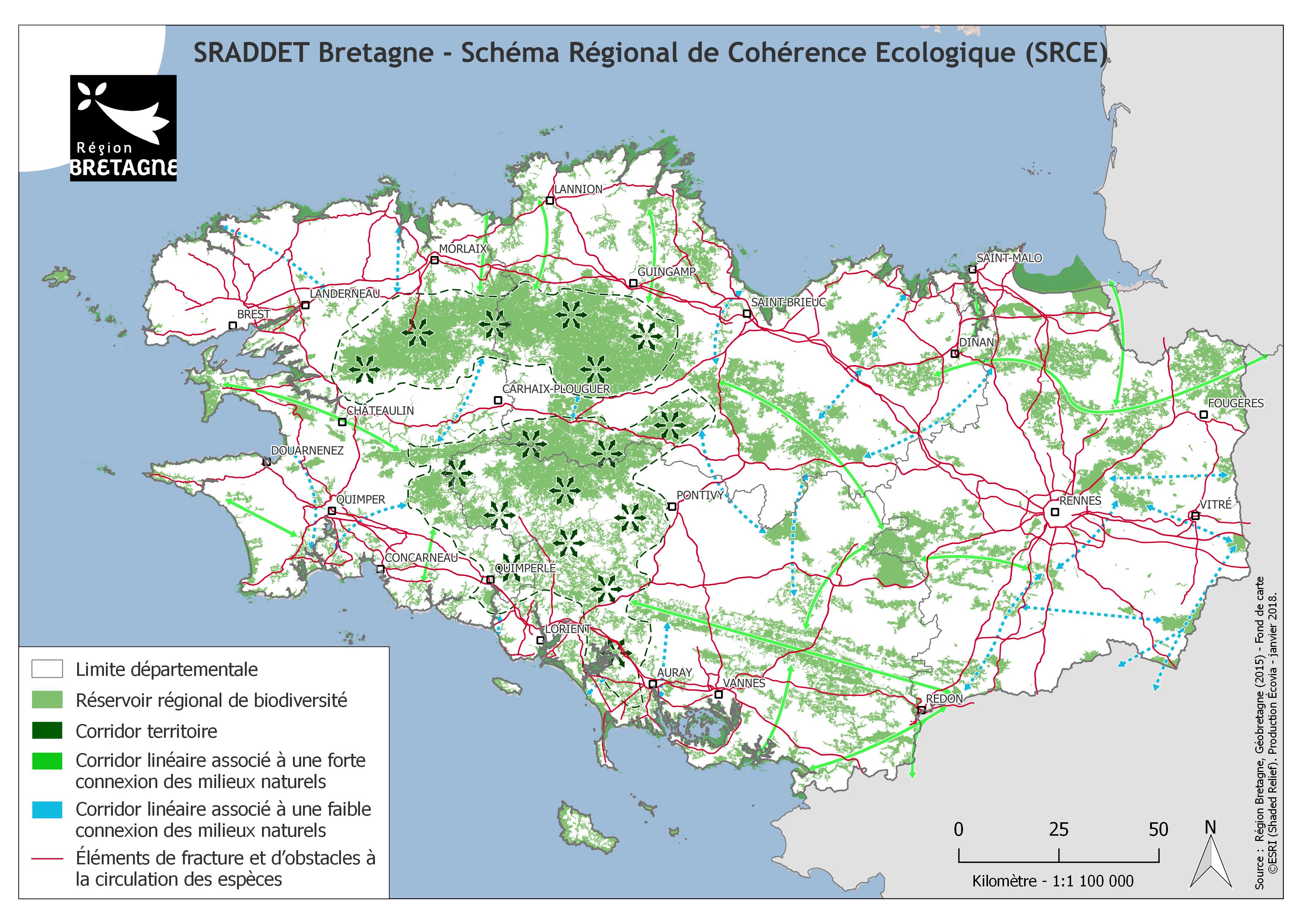 Evaluation environnementale stratégique du SRADDET, du PNRFB, du SMB et du PRPGD de la région Bretagne