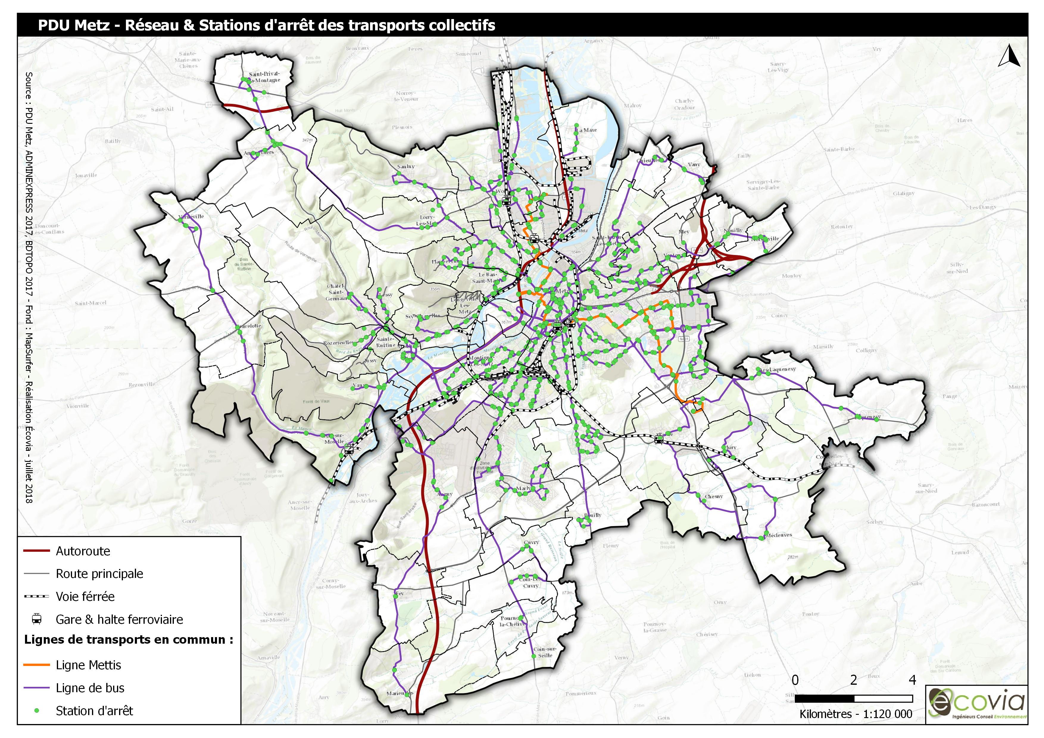 Évaluation environnementale du PDU de Metz Métropole