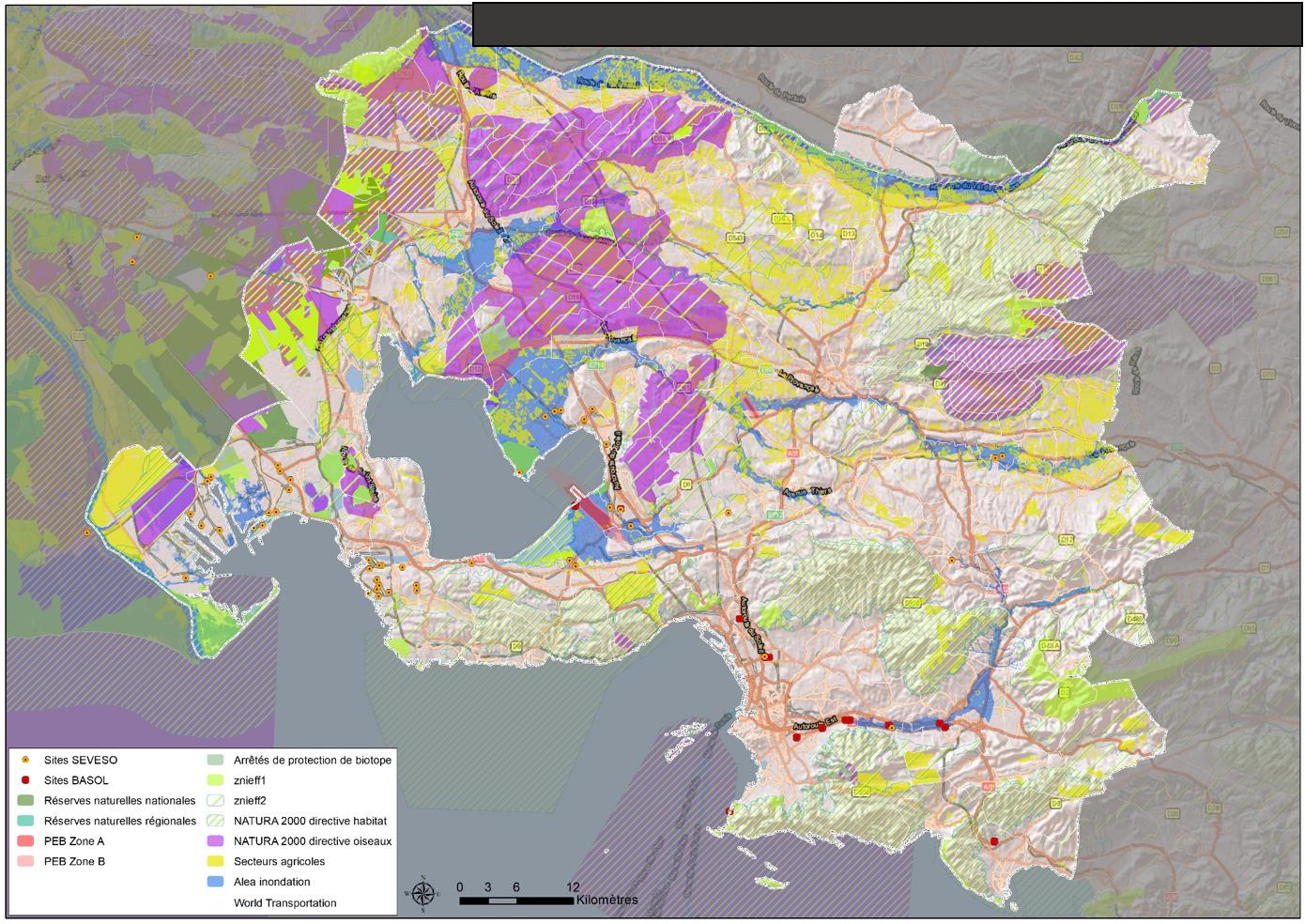 Évaluation environnementale de l'accord cadre de prestations de modifications de SCoT, deprojet et de DUP valant mise en compatibilité de SCoT avec la Métropole Aix-Marseille Provence (13)