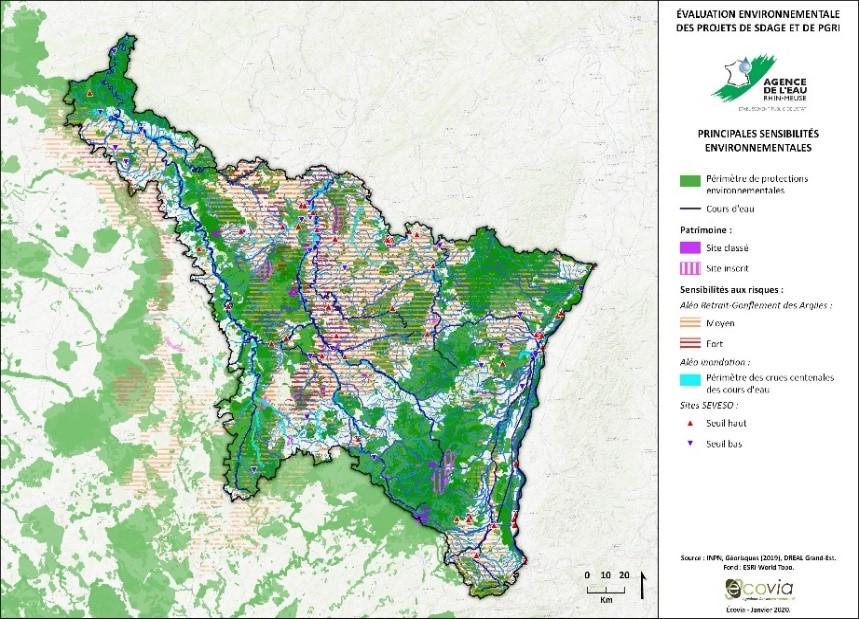 Évaluation environnementale des SDAGE Rhin et Meuse et des PGRI Rhin et Meuse