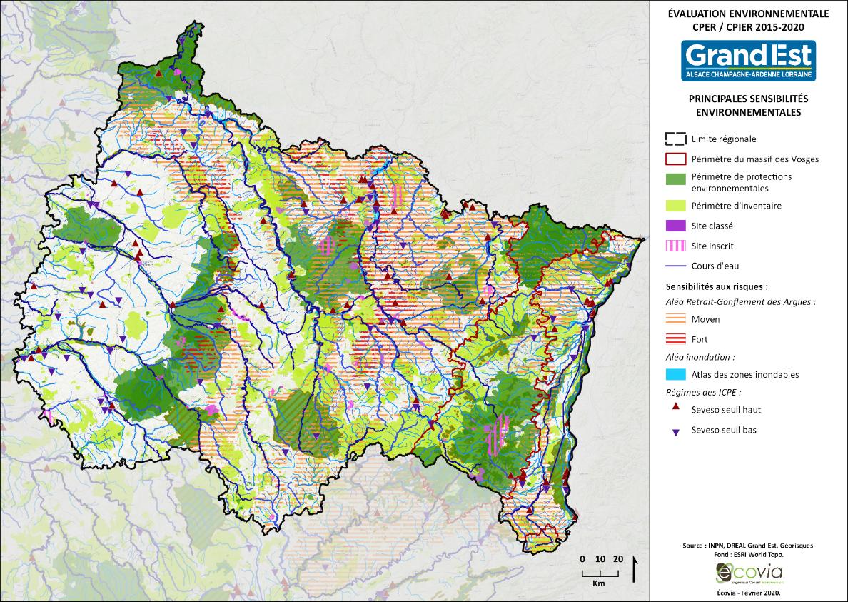 Accord cadre pour l'évaluation stratégique environnementale du CPER 2021-2027 Grand Est et du CPIER Massif des Vosges 2021-2027 – Préfecture de région Grand Est (67)