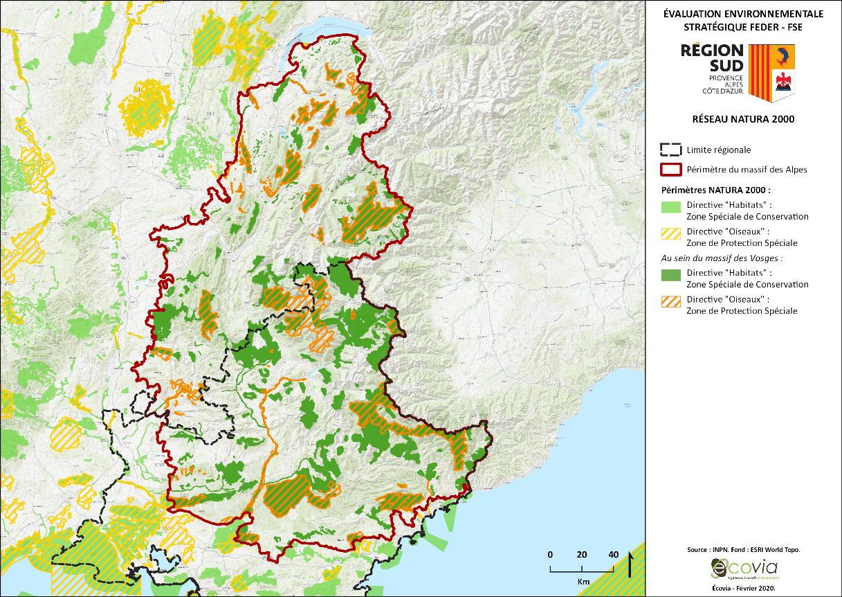 Évaluation environnementale stratégique dans le cadre du programme opérationnel 2021-2027 FEDER-FSE de la Région Provence-Alpes-Côte d'Azur