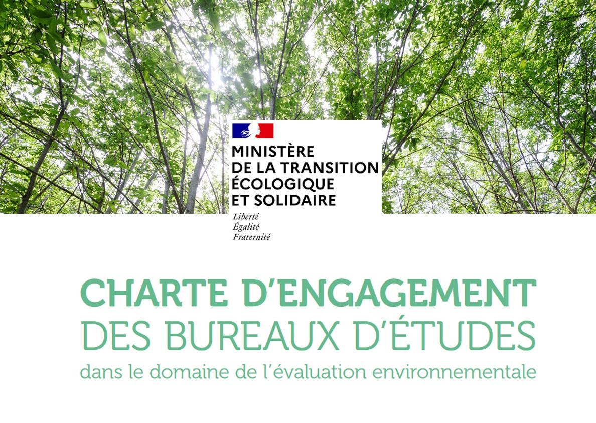 EcoVia signataire de la charte d'engagement des bureaux d'études dans le domaine de l'évaluation environnementale